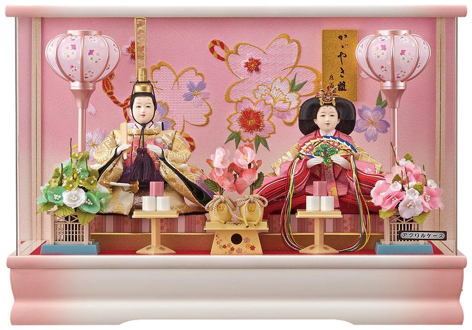 愛里小三五親王飾 白桃 183-260