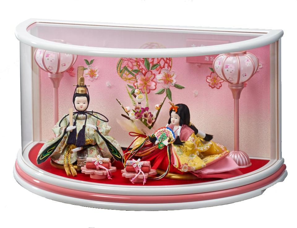 まりな豆親王飾白桃 193-264