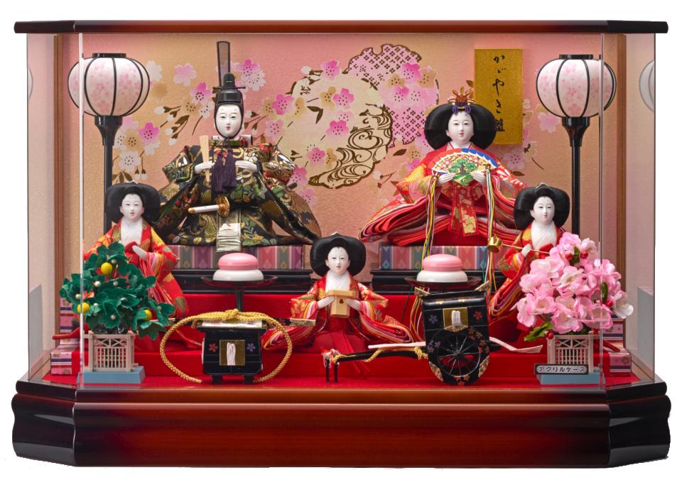 美咲三五芥子五人飾 193-525