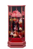 吊るし飾りケース入 小 桃 203-602